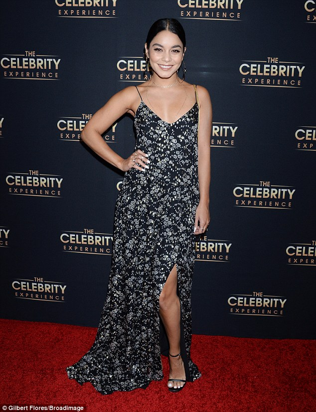 Vanessa Hudgens cuts a stylish figure
