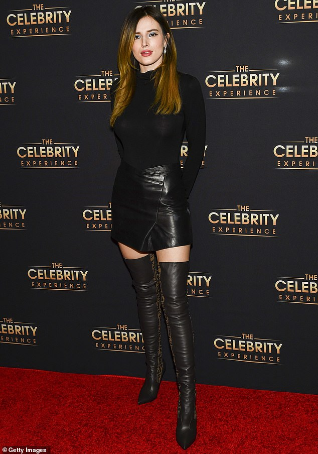 Bella Thorne turns heads